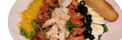 Salads from Bumps Family Restaurant